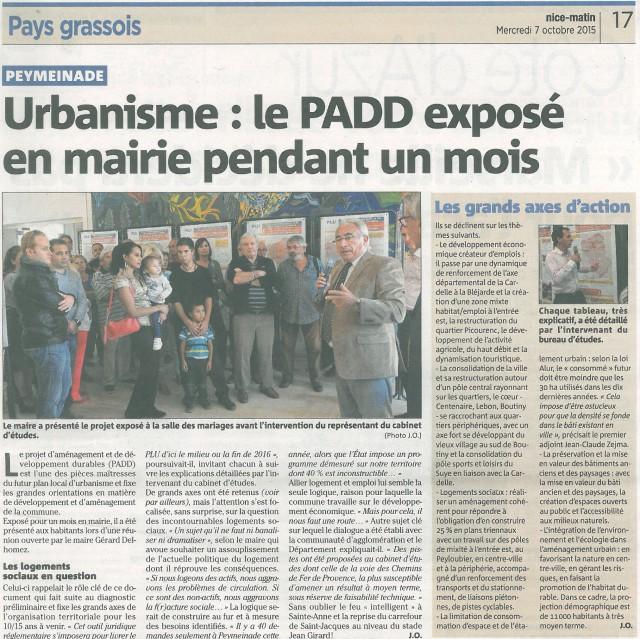 Plan Local d'Urbanisme de Peymeinade